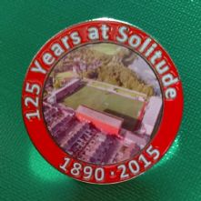 125 Years at Solitude Badge (Modern Stadium)
